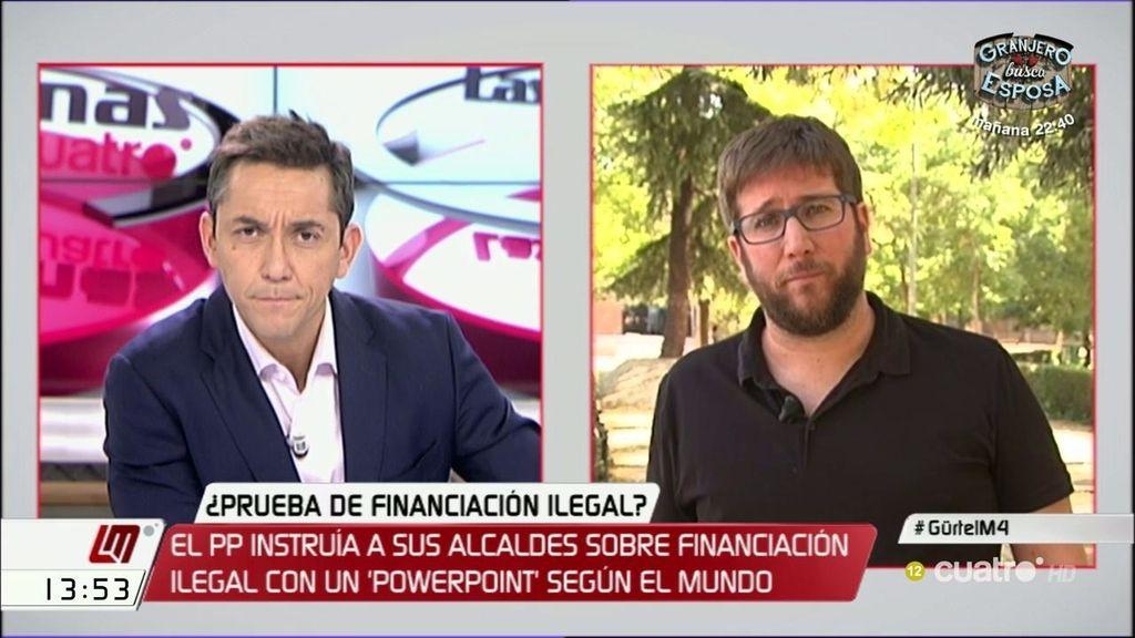 """Urbán: """"La abstención es terrible e inhabilita al PSOE para hacer ningún tipo de oposición"""""""