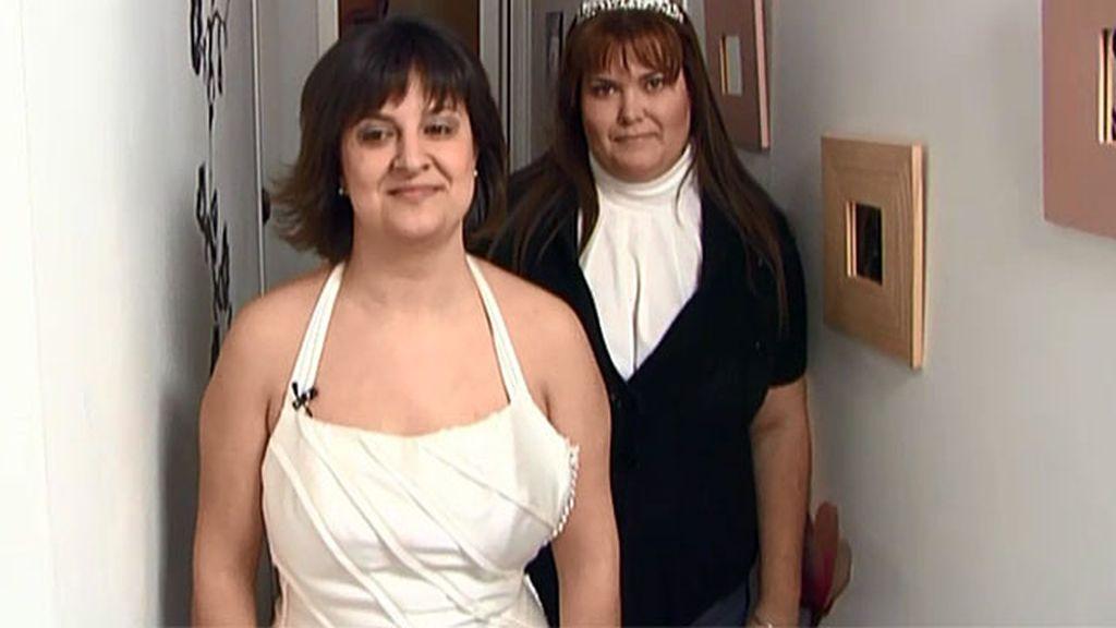 Vendo: pack de vestido de novia y tiara