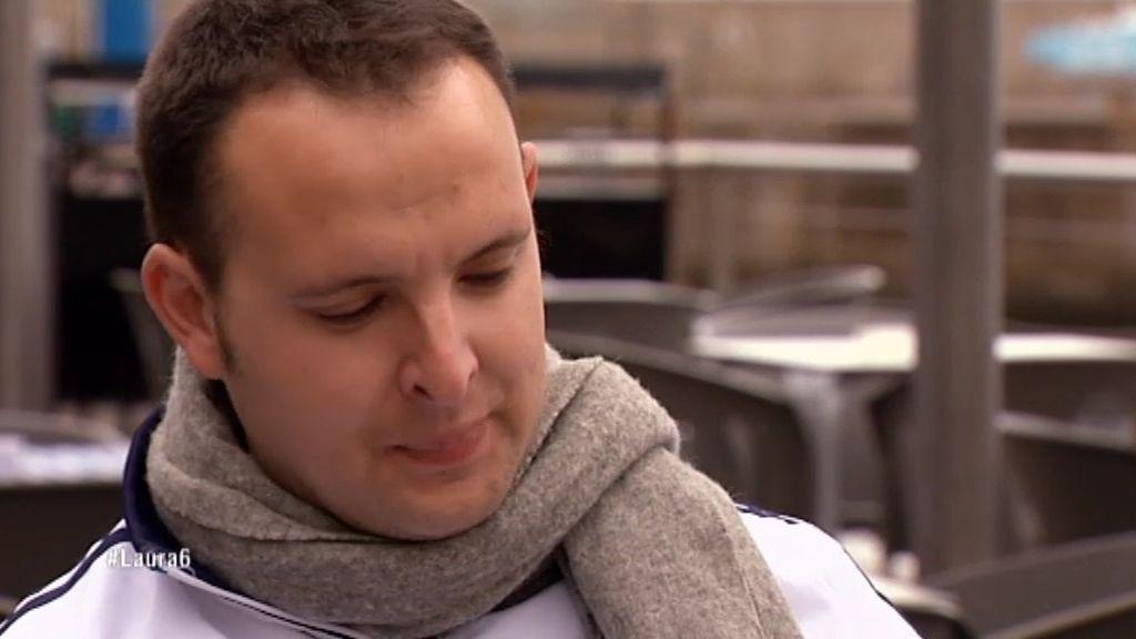 """'El coplas' se emociona en su declaración a Laura: """"Te mereces que te hagan feliz"""""""