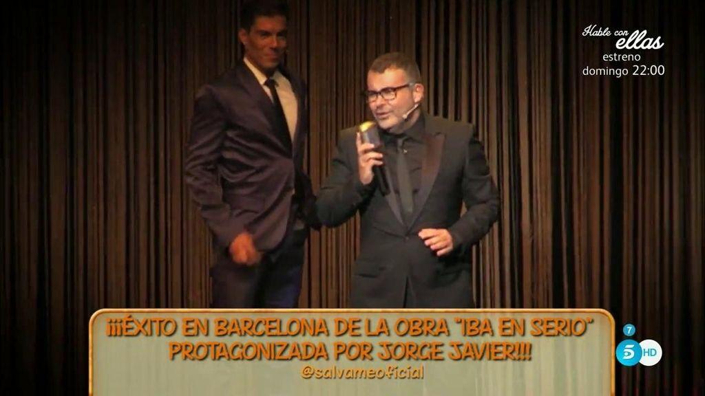 'Iba en serio' debuta en el hogar de Jorge Javier Vázquez
