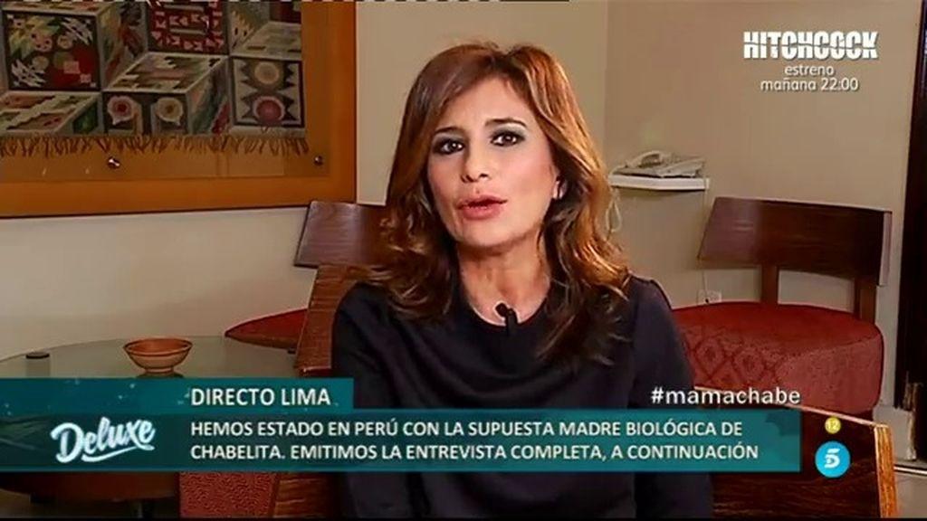 """Gema López: """"Roxana no ha sido consciente del daño que ha hecho a Chabelita"""""""