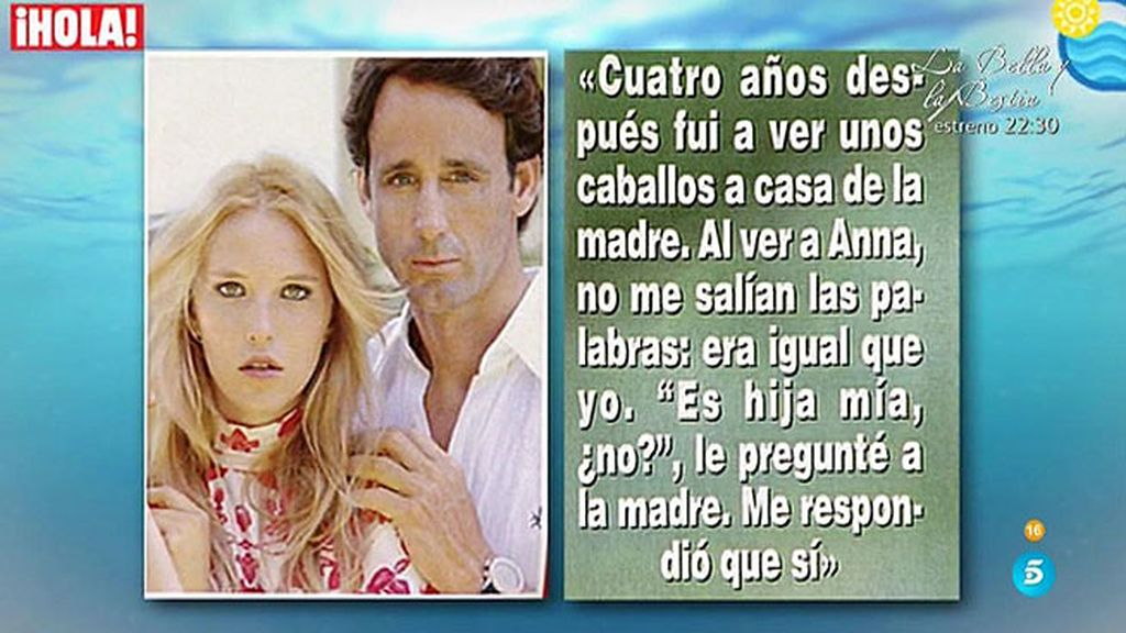 ¿Quién conocía la existencia de la hija secreta de Álvaro Muñoz Escassi?