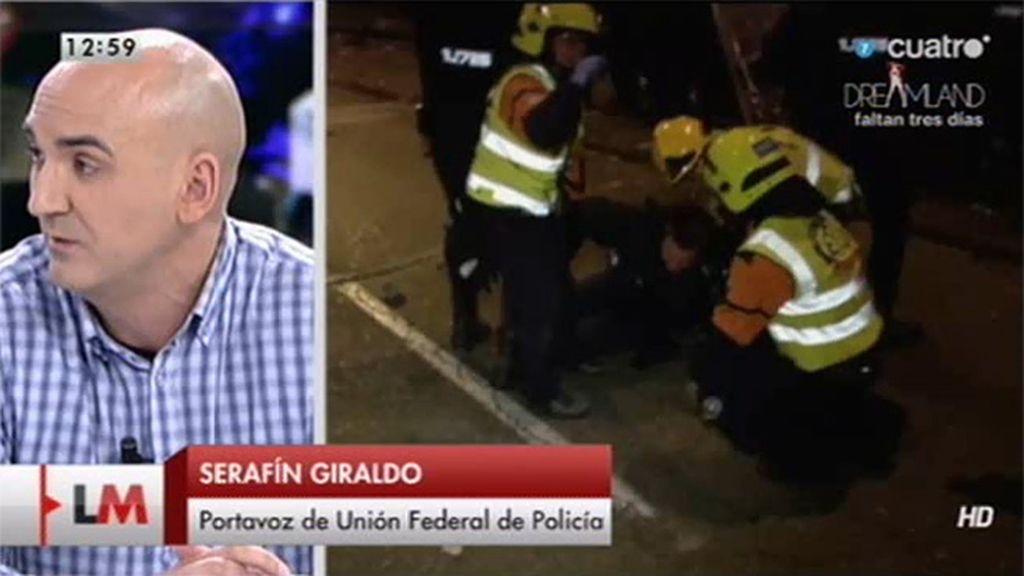 """S. Giraldo, portavoz de UFP: """"Reclamamos que alguien asuma la responsabilidad"""""""