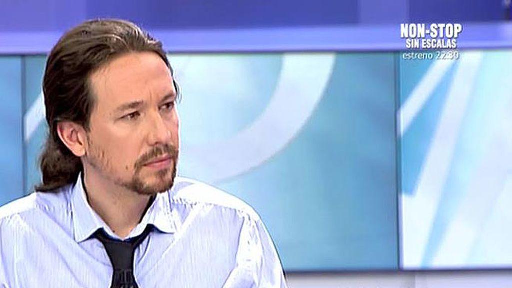 """Iglesias: """"Reconocer la diversidad y que en Cataluña hay una tensión ayuda a la construcción de un proyecto común"""""""