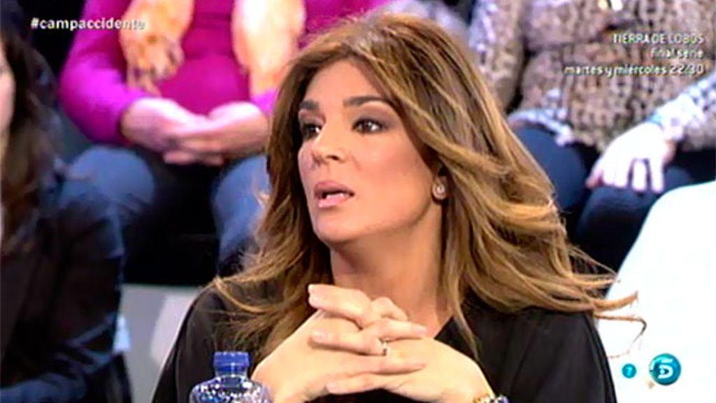 Raquel Bollo habla con Remedios Torres sobre el accidente de moto de su hijo Diego