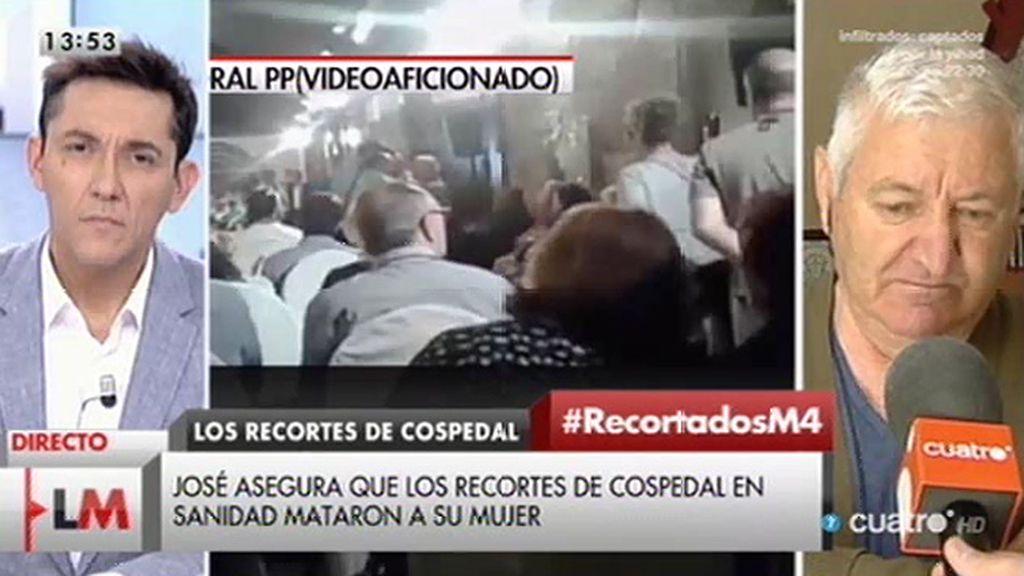 """José María: """"Falta asistencia médica"""""""