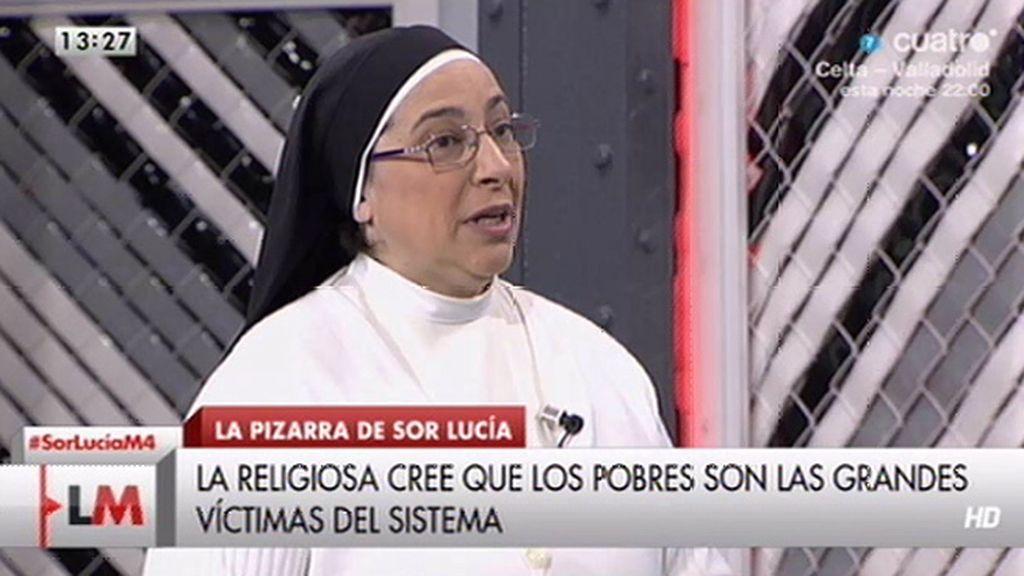 ¿Qué adjetivos dedica Sor Lucía Caram al Gobierno, la oposición o los sindicatos?
