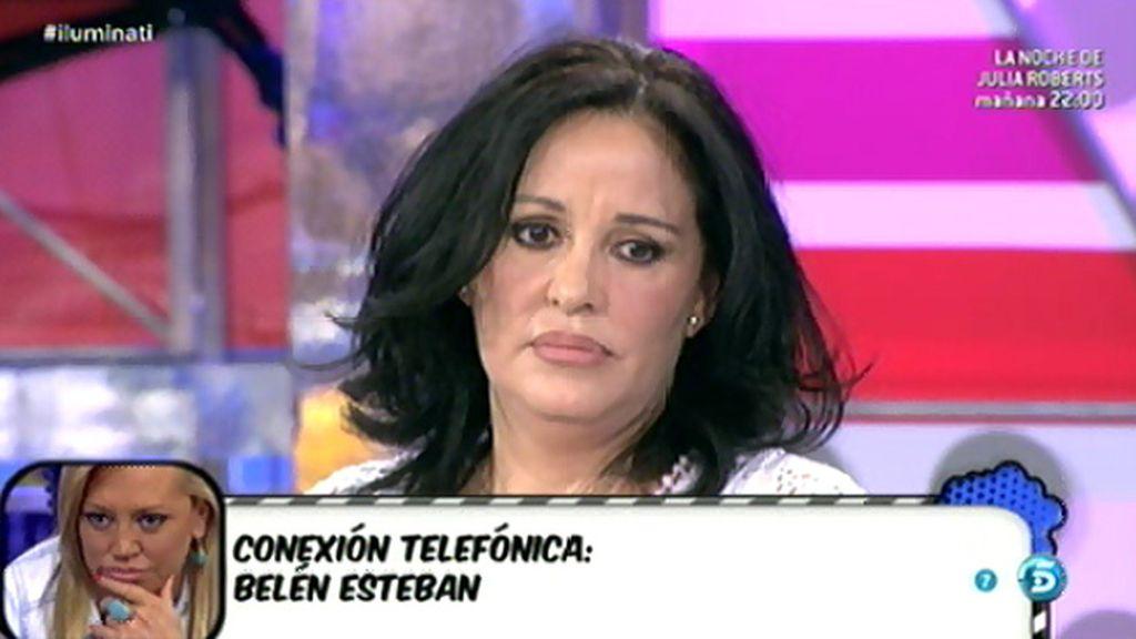 Belén Esteban defiende a Jesulín de las afirmaciones de su ex, Natividad Expósito