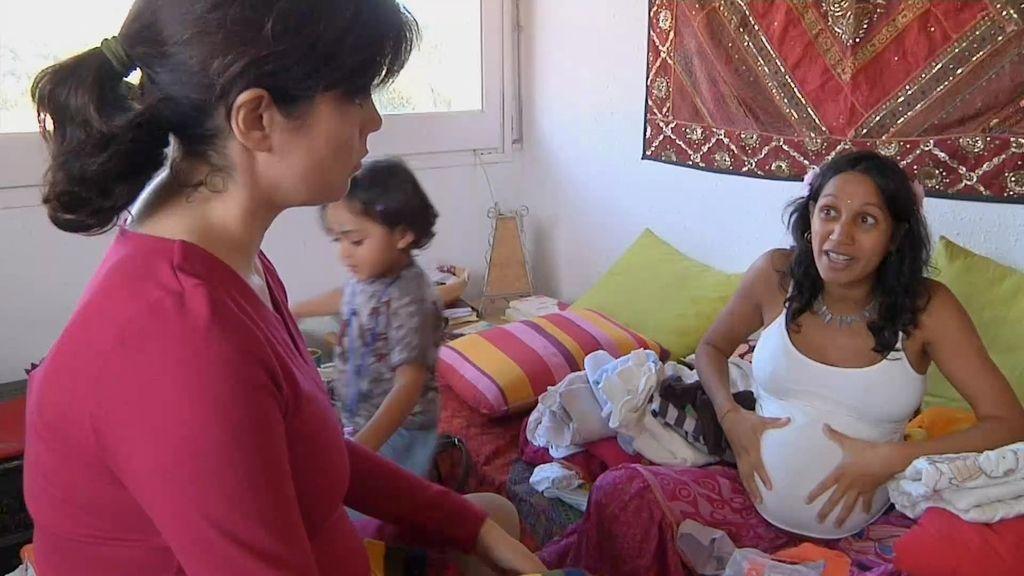 """Shalini: """"El hospital no te recibe bien si has intentado parir en casa"""""""
