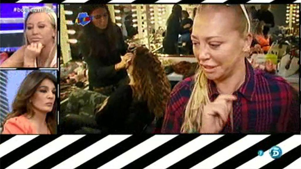 Belén y Raquel coincidieron en una sesión fotográfica tras la polémica del dinero