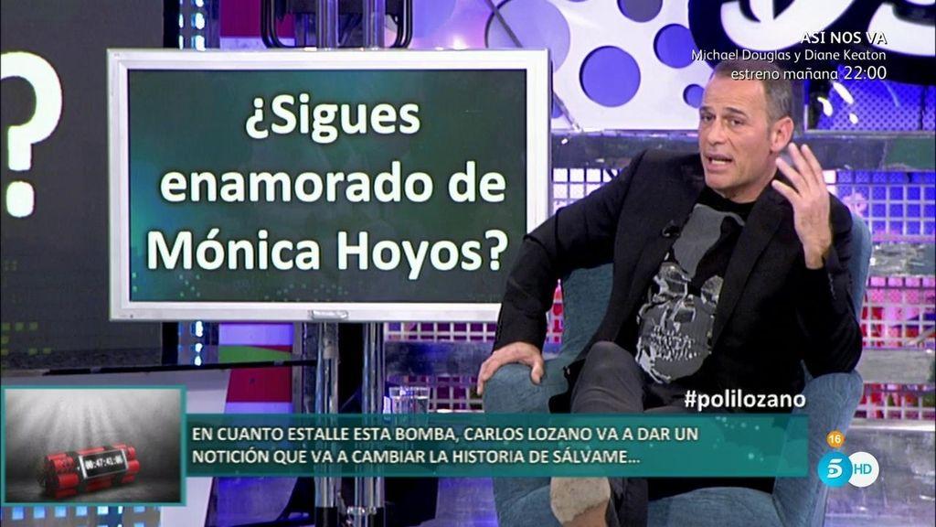 """Carlos Lozano: """"Mónica Hoyos es la mujer a la que más he amado"""""""