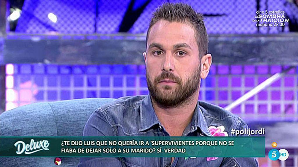 """Jordi Martín: """"Luis pilló a su marido Alejo ligando en una aplicación del móvil"""""""