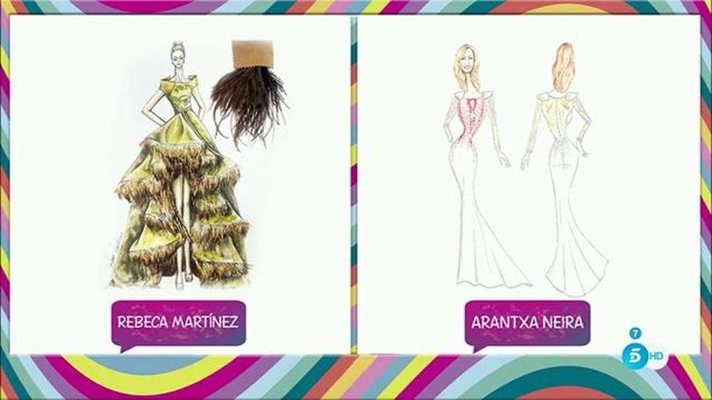 Rosa Benito llevará un vestido de corte sirena