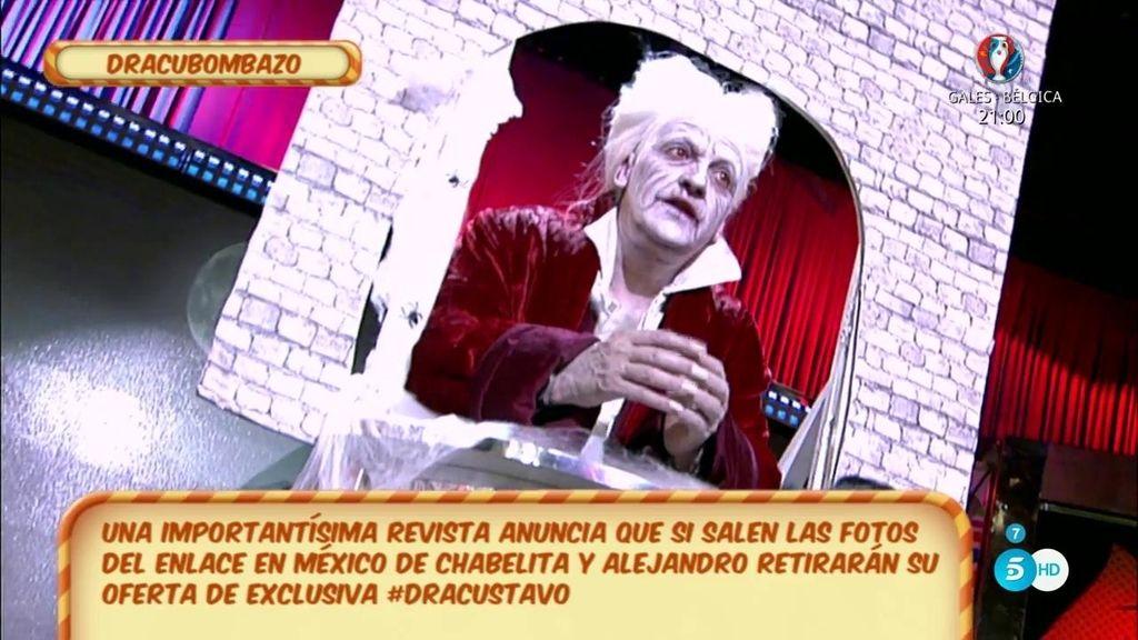 La exclusiva de la boda de Chabelita podría verse perjudicada, según Gustavo González