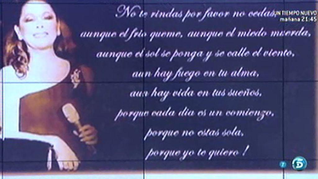 El emotivo tuit de Kiko Rivera a su madre