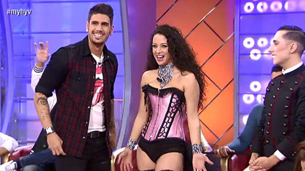 Paula repite corsé para convencer a Iván