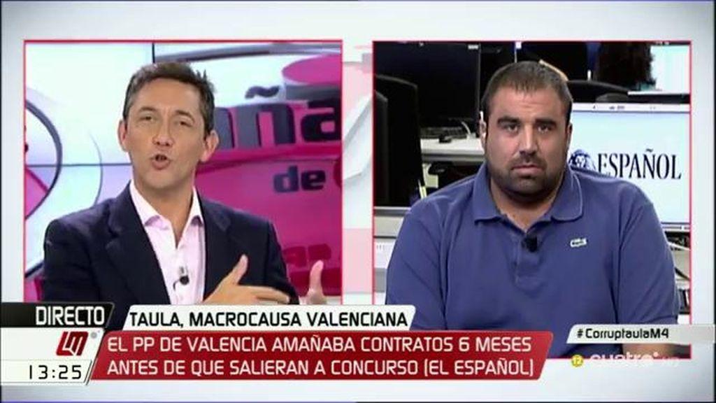 """Dani Montero: """"En el PP valenciano hablaban de Reyes Magos para referirse a mordidas"""""""