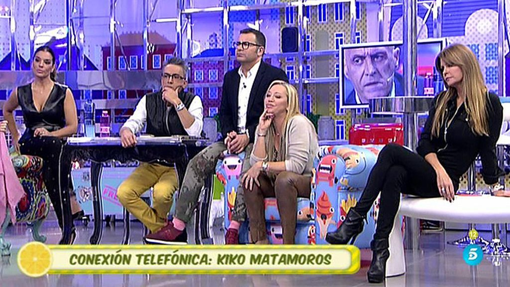 """Kiko Matamoros, a Belén Esteban: """"Has cometido un error muy grave"""""""