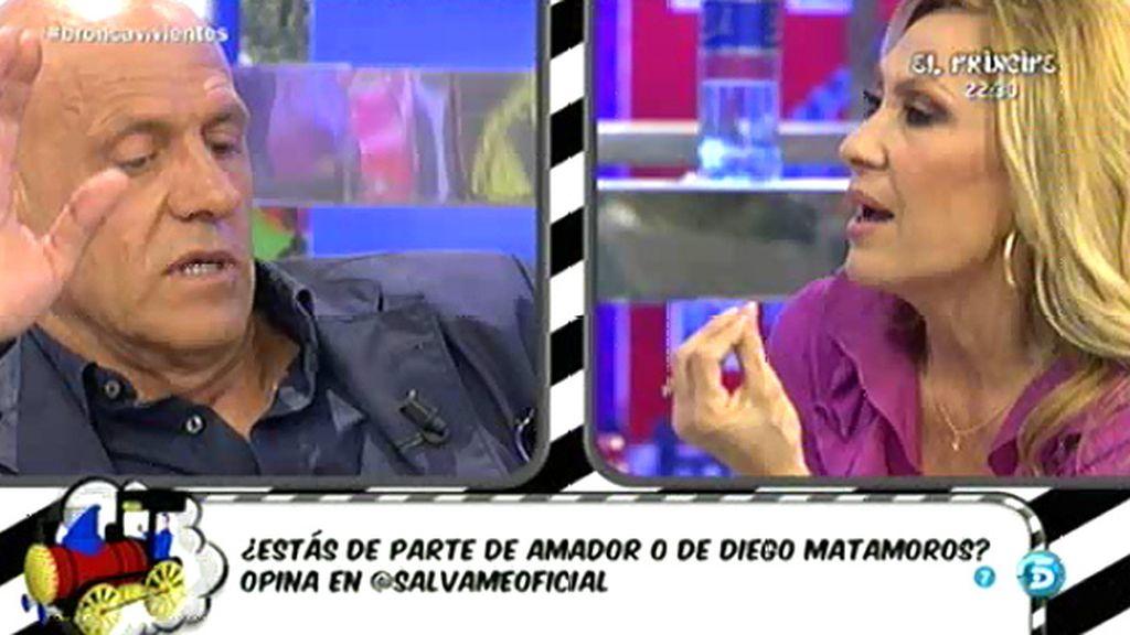 "Kiko Matamoros, a Rosa Benito: ""Si la defensa es la mentira mal vamos"""