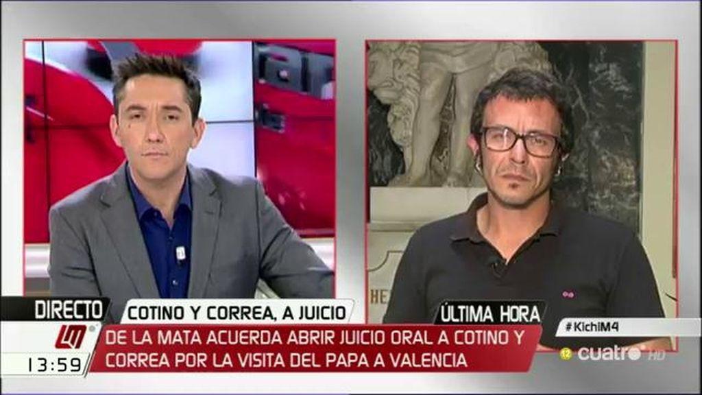 """J.M. González 'Kichi': """"El PP se cae con todo el equipo"""""""
