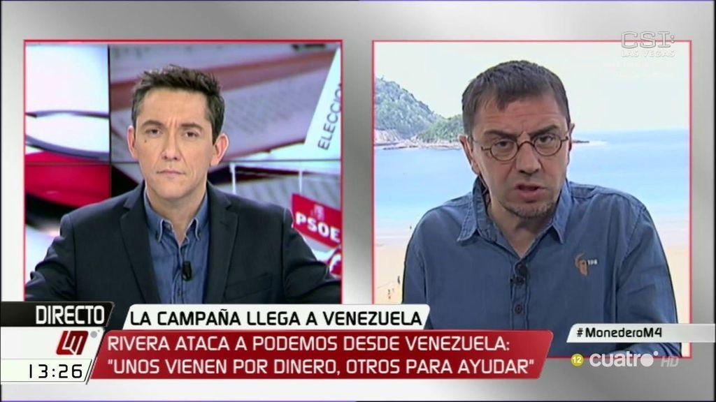 La entrevista de Juan Carlos Monedero en 'Las Mañanas', a la carta