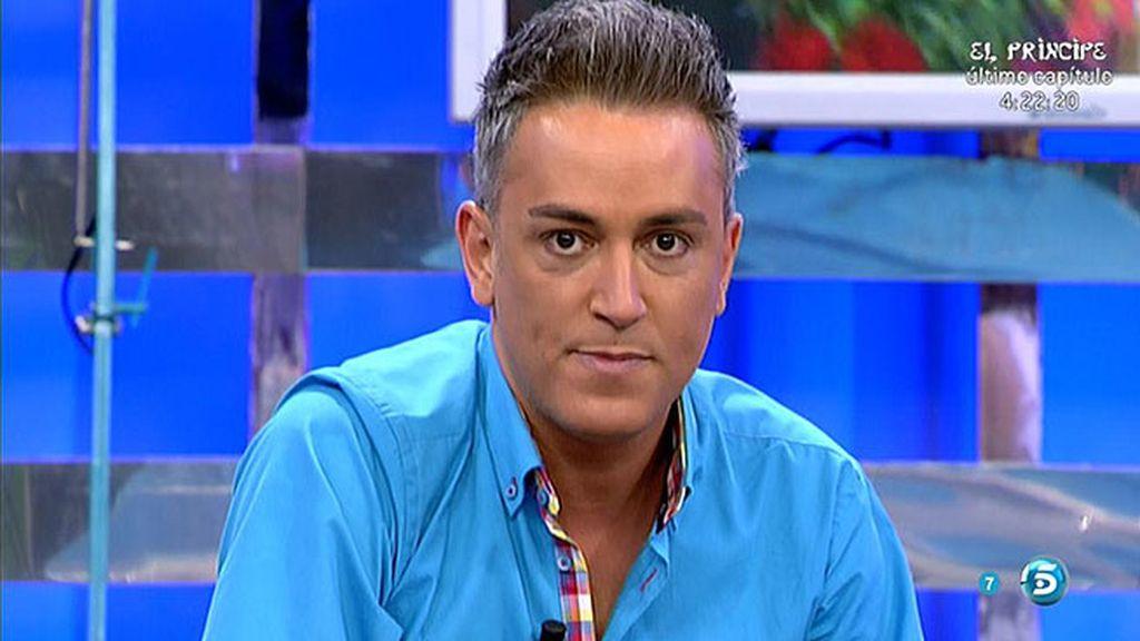 """Kiko H., a Rosa Benito: """"Tengo el móvil petado de cosas de Chayo Mohedano"""""""