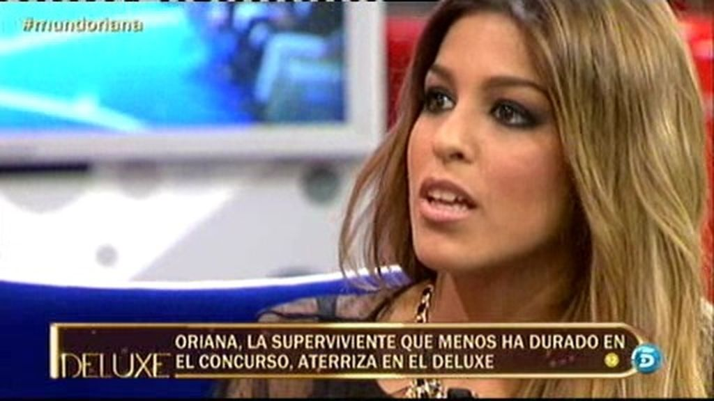 """Oriana: """"Con 32 años uno deja de ser joven"""""""
