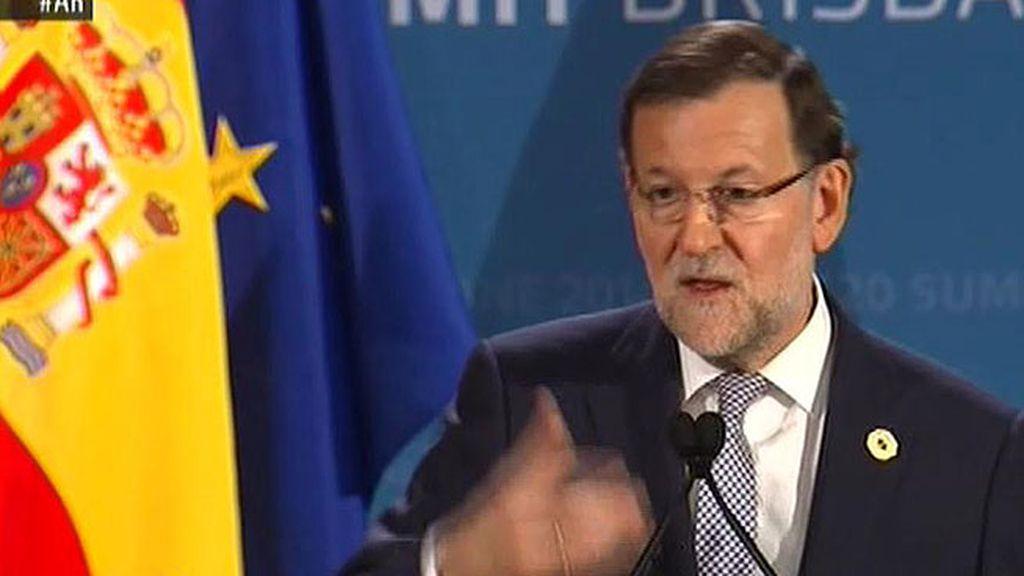 """Rajoy: """"El gobierno ha cumplido la legalidad"""""""