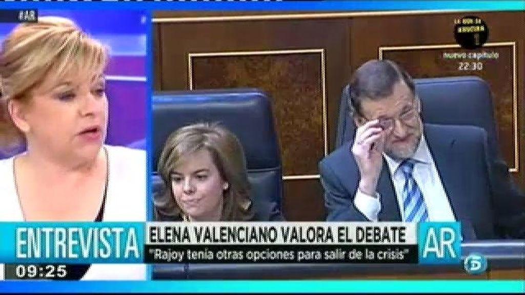 """Valenciano: """"Ha hecho una reforma laboral de derechas que beneficia a los empresarios"""""""