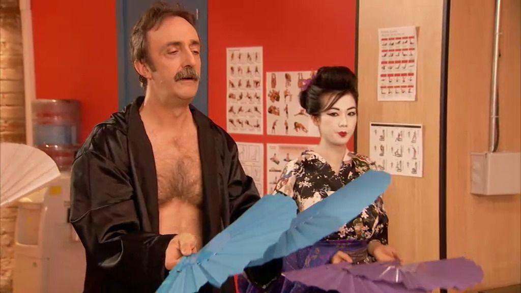 Velasco-San se apunta a las nuevas clases de danza japonesa