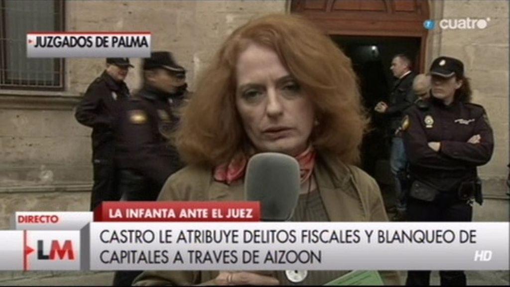"""Alicia Gutiérrez: """"El interrogatorio a la Infanta va a ser largo y exhaustivo"""""""