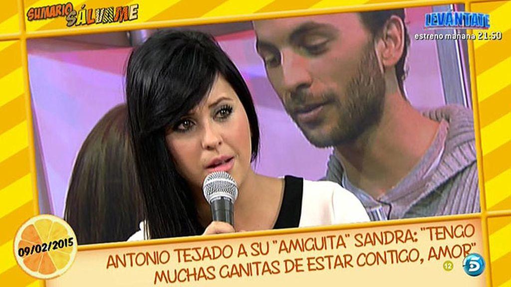 """Sandra: """"Alba me llamó después del 'Deluxe"""""""