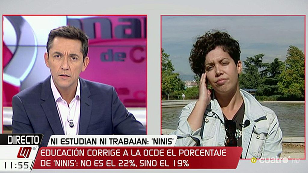 """Ana García, Sindicato de Estudiantes: """"No vamos a dejar que una panda de corruptos se lleve el dinero de la educación"""""""