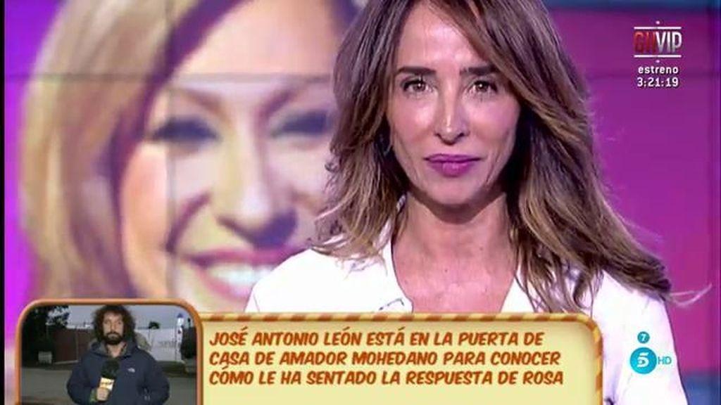 """María Patiño: """"Amador Mohedano se plantea ser colaborador del debate de 'GH VIP' en el 'Deluxe"""""""
