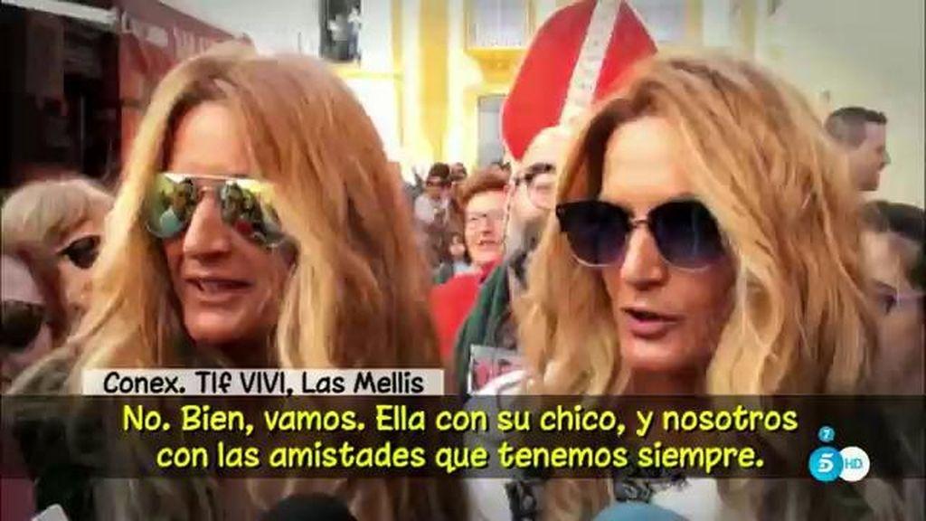 """'Las Mellis' aseguran que con Chabelita no tienen """"ningún problema"""""""