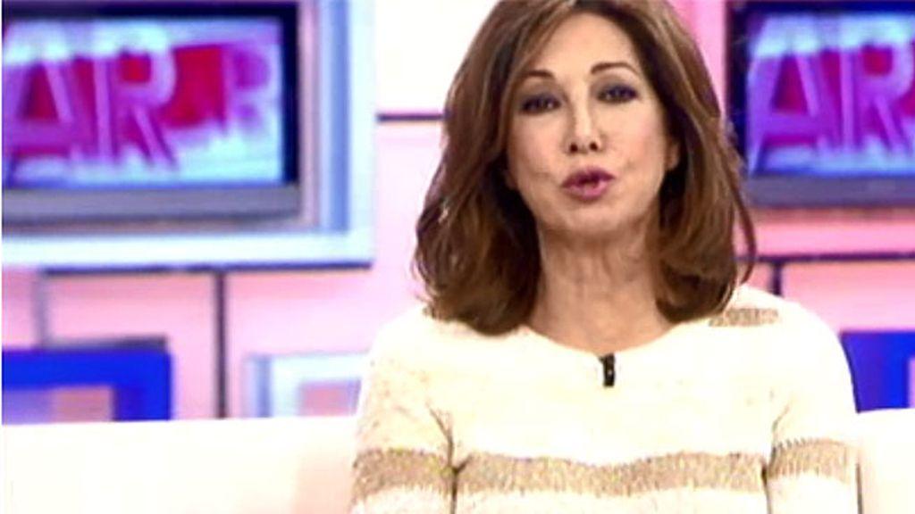 """Ana Rosa Quintana: """"Cuando lleguemos al millón de seguidores en Twitter, me desnudo"""""""
