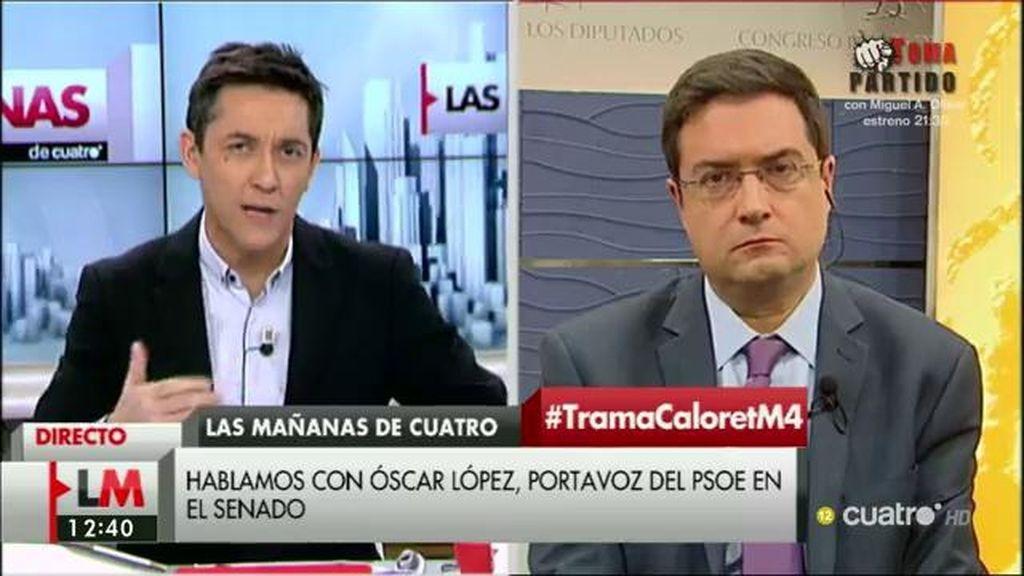 "Oscar López: ""Las palabras del ministro Fernández Díaz son muy graves"""