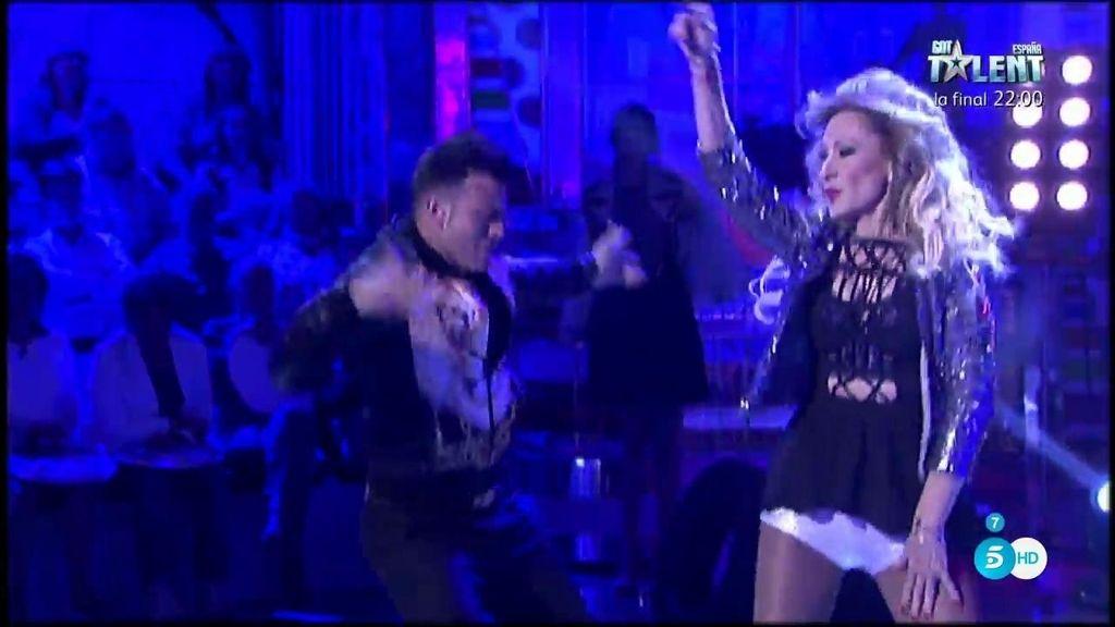 Rosa Benito se convierte en Beyoncé  con su baile sexy en el desguace de 'Sálvame'