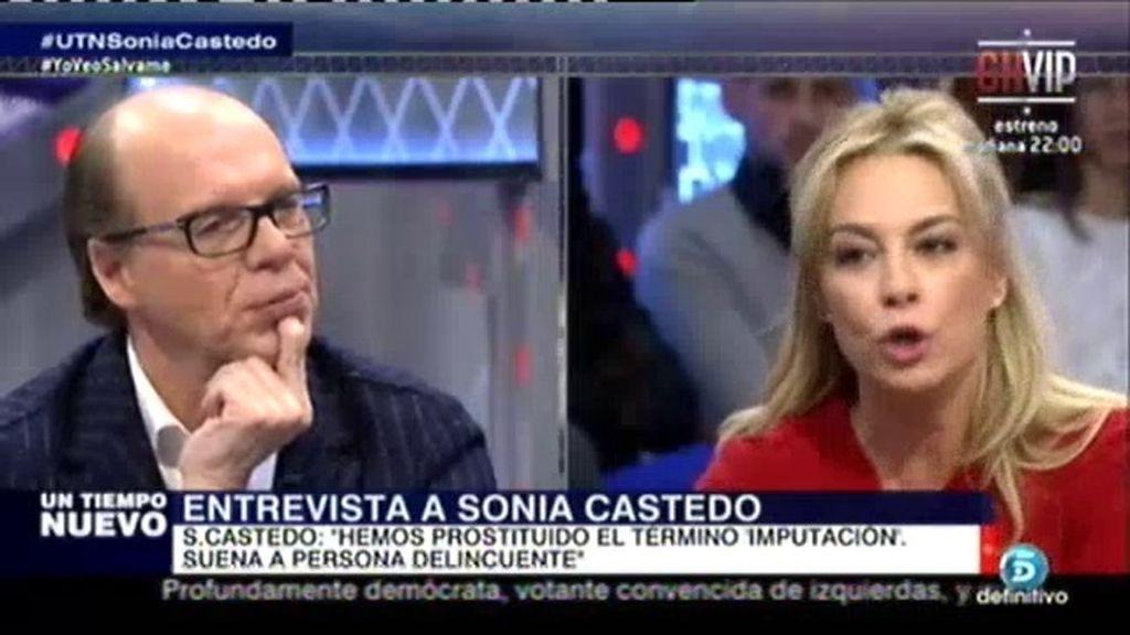 """Castedo: """"Los partidos políticos imputan a otros para quitarlos de cargos públicos"""""""