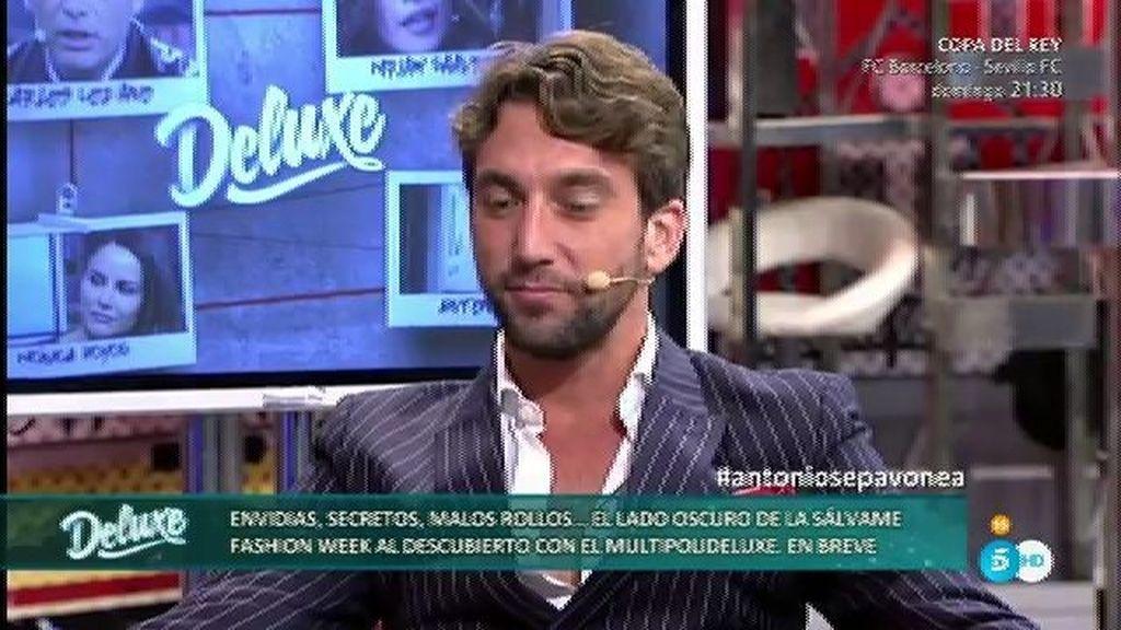 Antonio Pavón confirma haber tenido algo con Mónica Hoyos