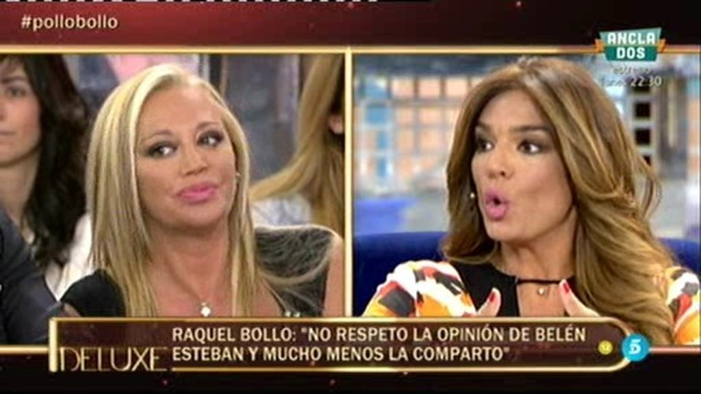 """Belén, muy molesta con el comentario de Raquel: """"No respeto la opinión de Belén"""""""