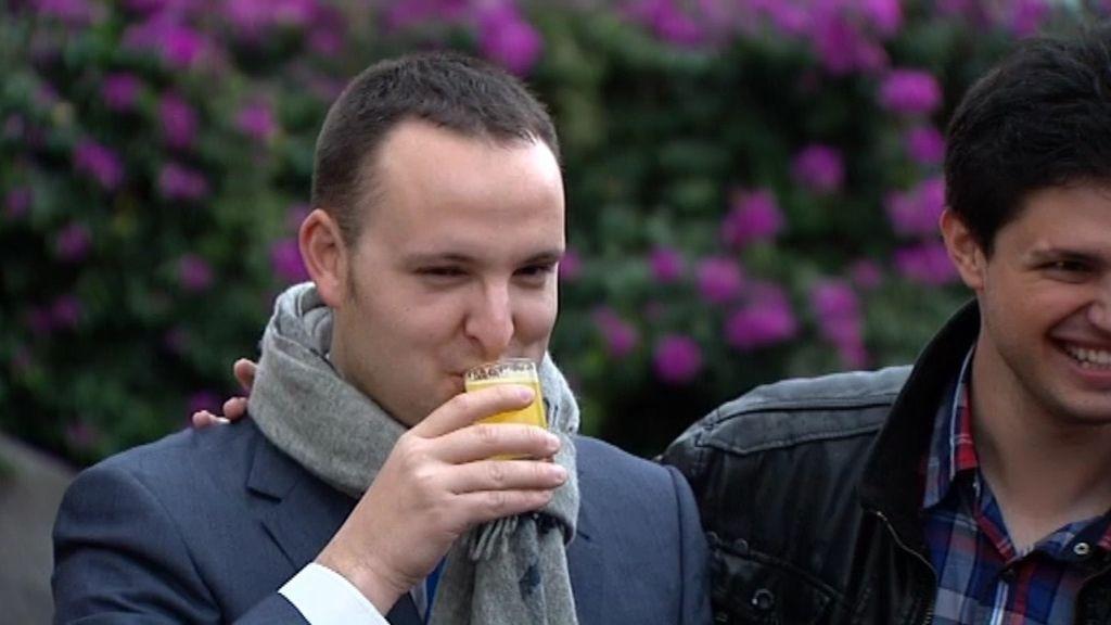 """César: """"En 32 años nunca había probado el alcohol"""""""