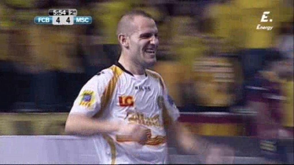Gol de Dani Salgado (Barça 4-5 Marfil)