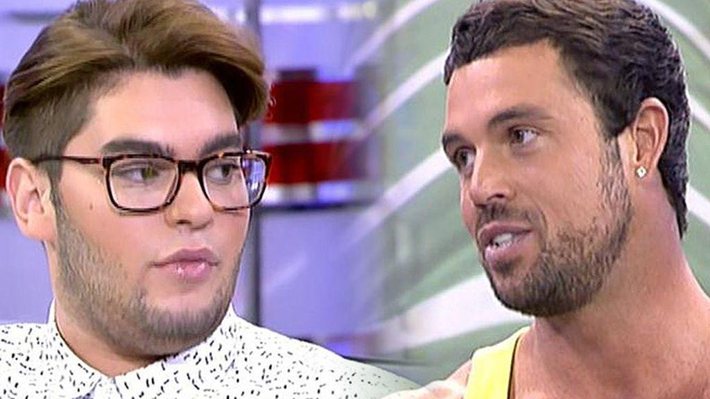 """Rafa Martín: """"Quiero echar a la hoguera los malos rollos que he tenido con Sema"""""""