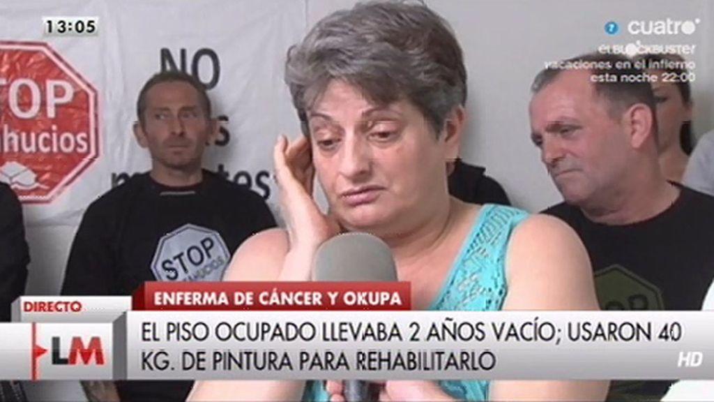 """Montserrat: """"No pido dinero ni salud, solo una vivienda donde pueda vivir dignamente"""""""