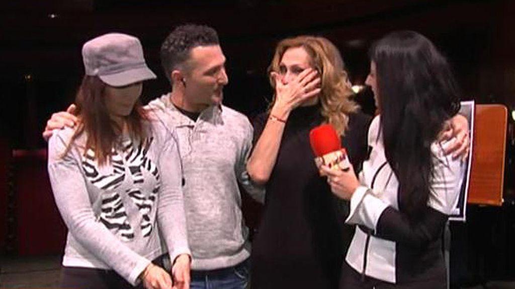 Rosa Benito confirma, emocionada, que va a cantar en el espectáculo de su hija
