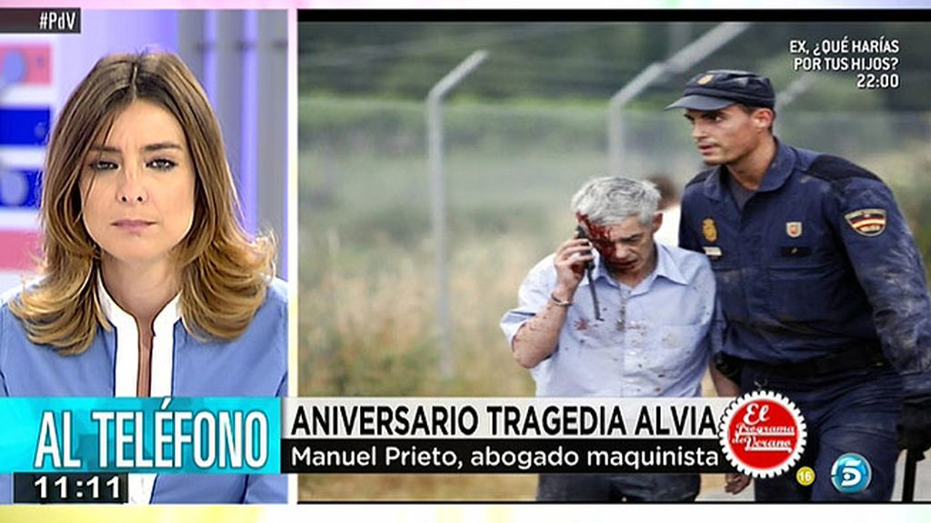 """El abogado del maquinista del Alvia: """"La causa fundamental del accidente fue la carencia  de medidas de seguridad"""""""
