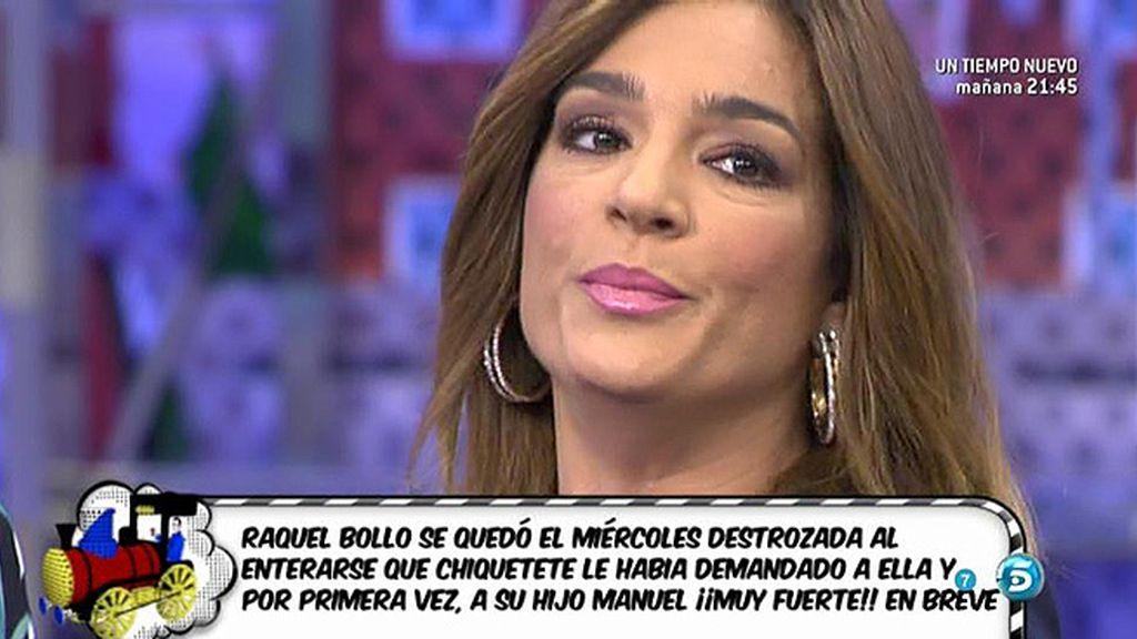 """Raquel Bollo, sobre Chiquetete: """"Tendría que estar en la cárcel por lo que hizo"""""""