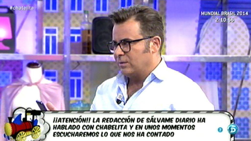 """J.J. Vázquez: """"Chabelita no tiene ningún problema en que Isabel Pantoja vea a su hijo"""""""