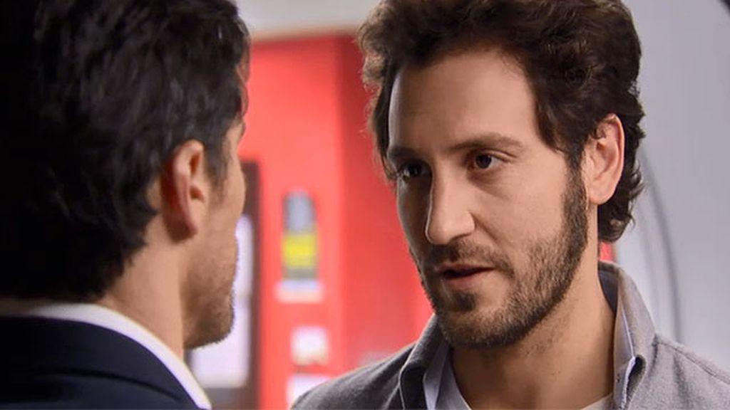 Sergio Feo y Carlos, cara a cara